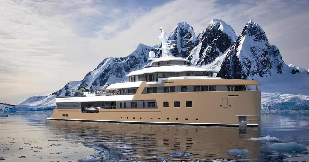Groundbreaking expedition yacht 'La Datcha', currently in build, to charter in 2021 photo 1