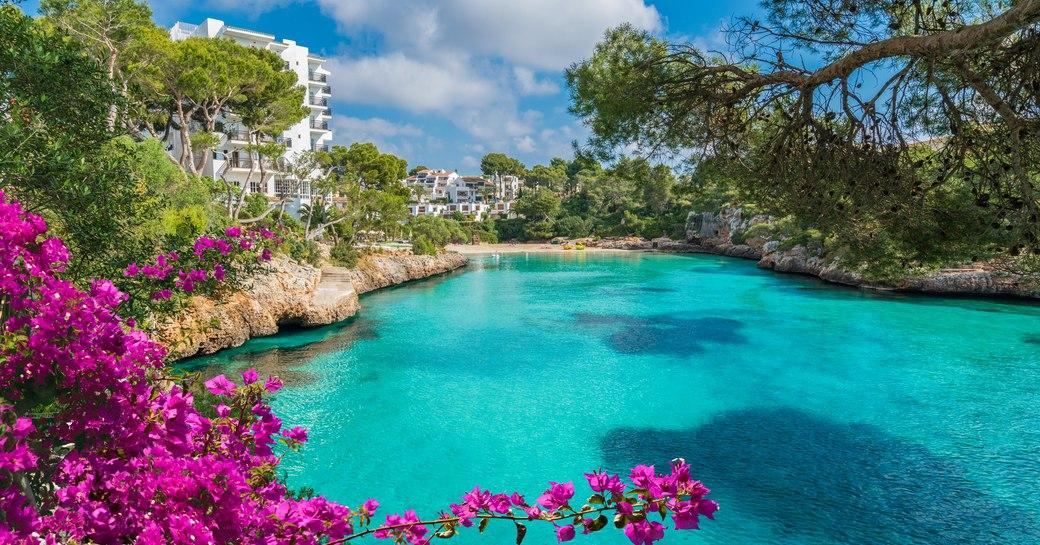 Cala D'Or Bay in Mallorca, Spain