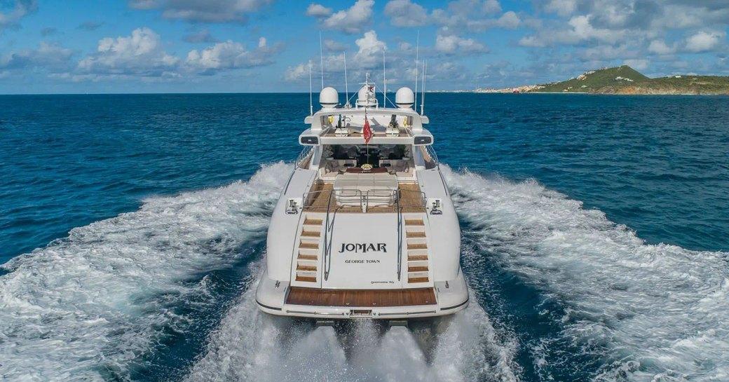 Aft deck motor yacht JOMAR