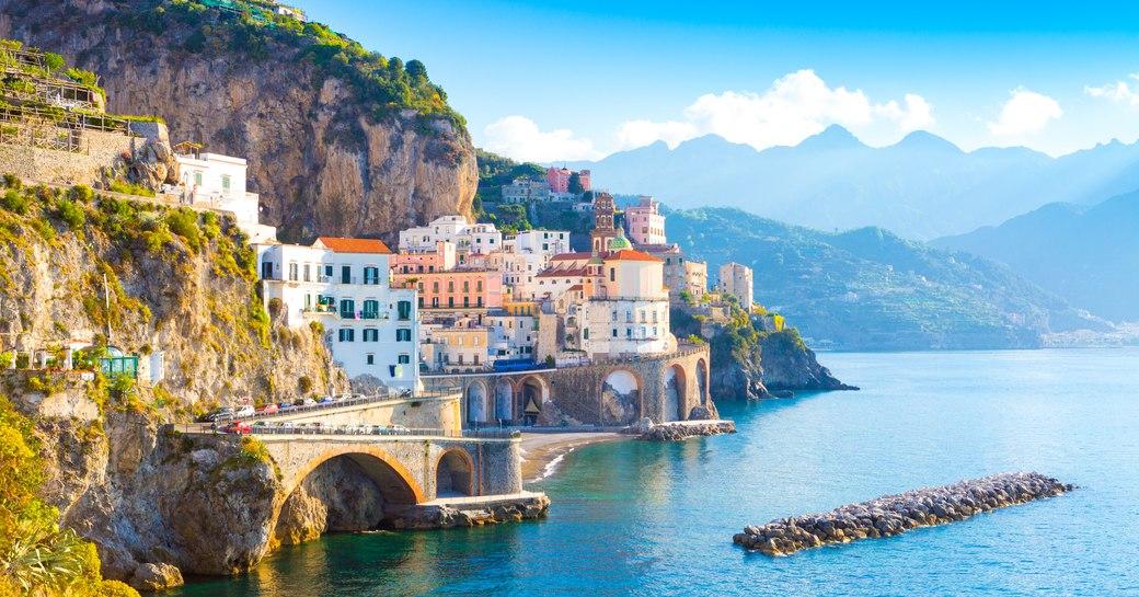 Seascape of Italy's Amalfi Coast