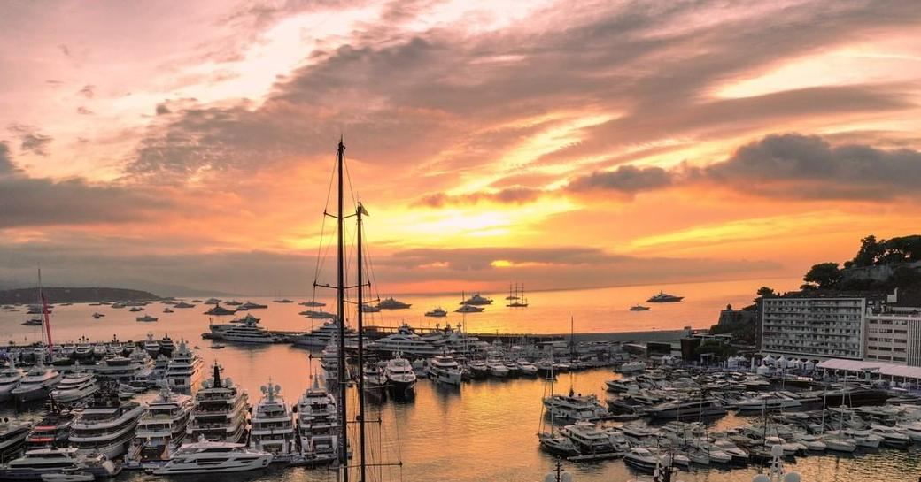Standout yachts at anchor at the Monaco Yacht Show 2021 photo 23