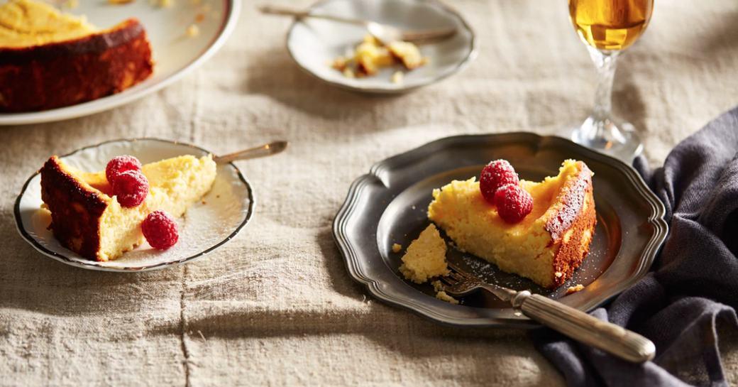 Fiadone, a traditional Corsican dessert