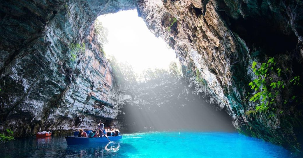 5 amazing blue caves you have to visit during a Greece superyacht charter  photo 1