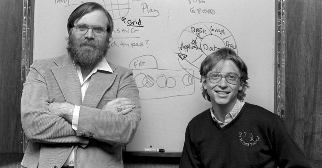Bill Gates and Paul Allen, superyacht owner and visionary