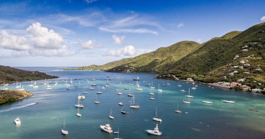Virgin Islands yachts