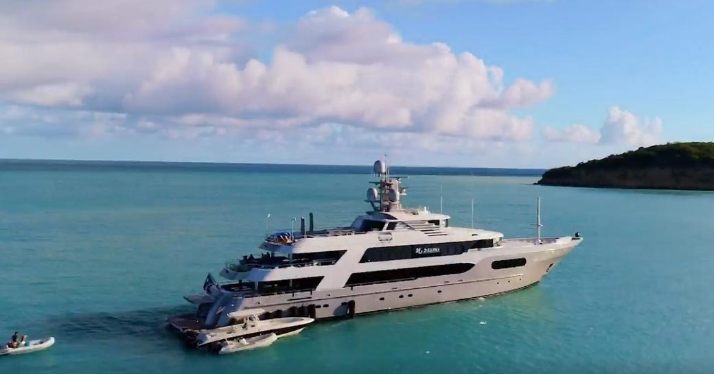 My Seanna, boat used in filming of Below Deck season 8