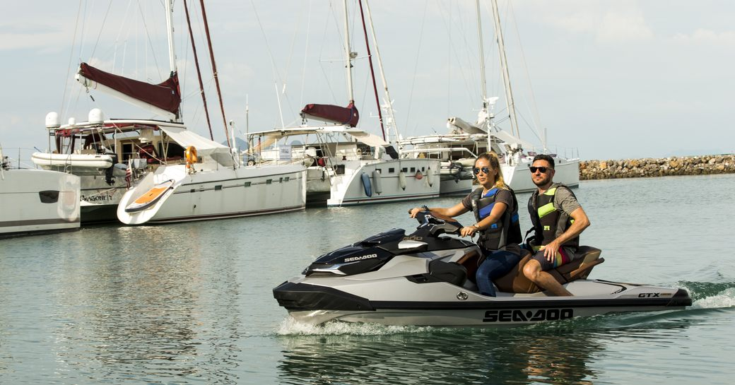 a Seadoo demonstration at the Thailand Yacht Show & Rendezvous