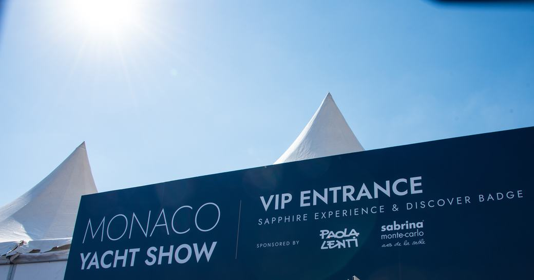 VIP entrance at the MYS 2021