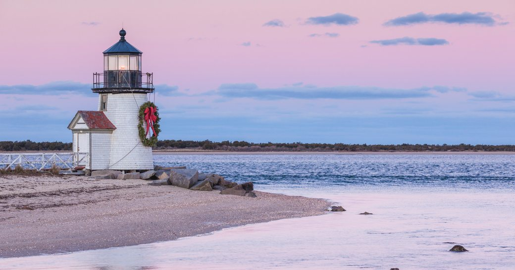 Lighthouse in New England