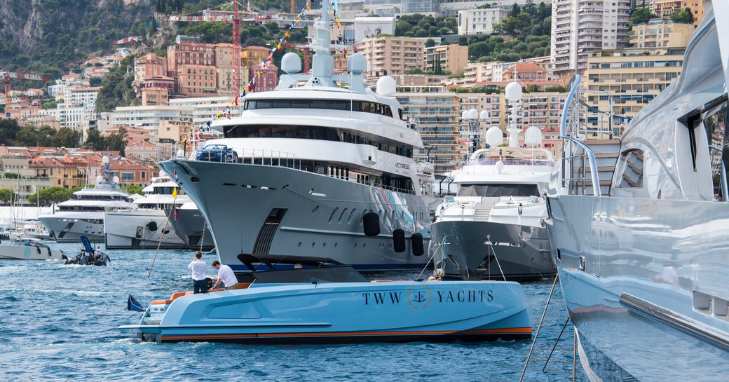 MY Victorious at the MYS 2021