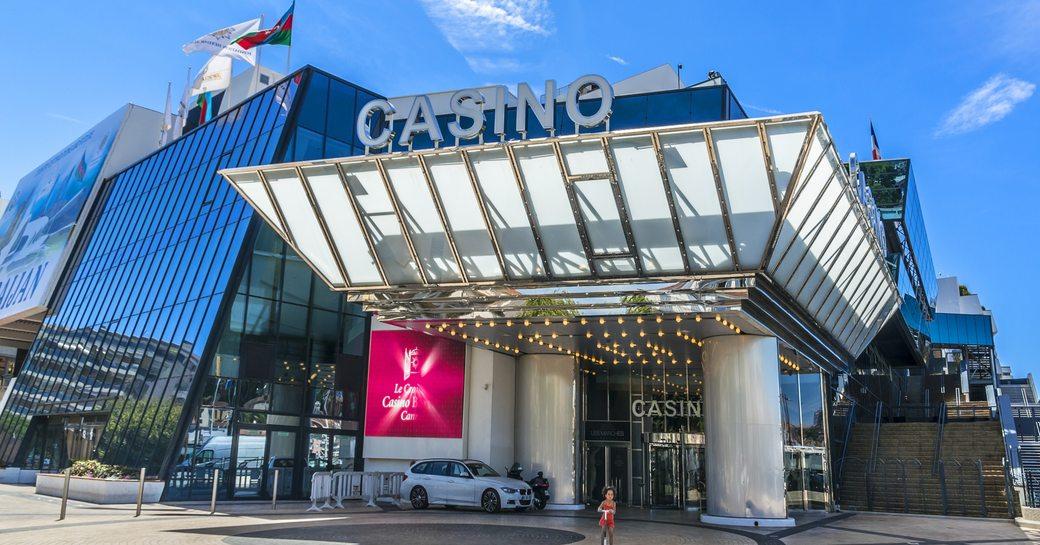 Casino Barrière Cannes Le Croisette forms part of the Palais des Festivals