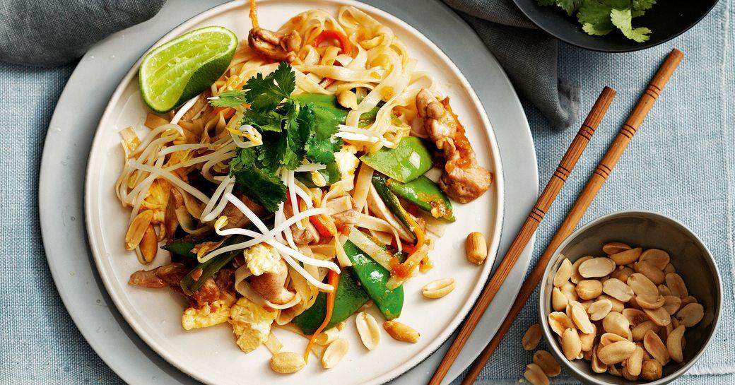 Pad Thai served throughout Thailand