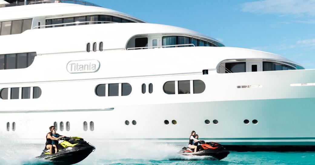 family yacht titania