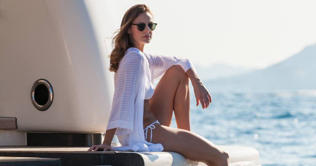 social distancing on a superyacht