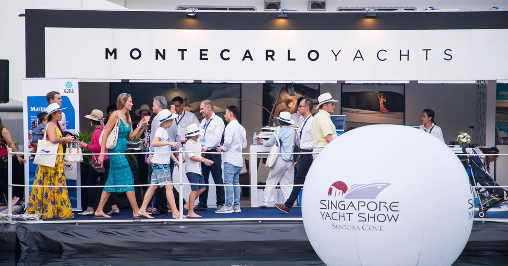 Doors open at the Singapore Yacht Show 2018 photo 1