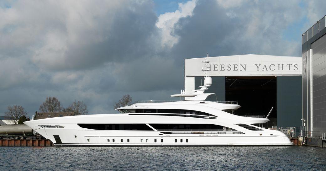 Heesen's 50m Project Triton ready for sea trials photo 9
