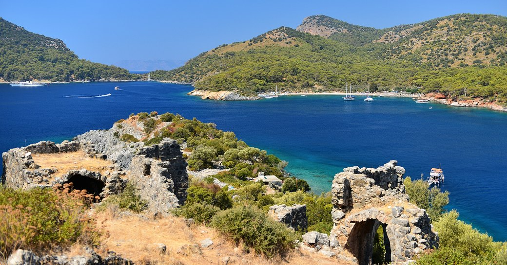 Views from St Nicholas Island, Turkey