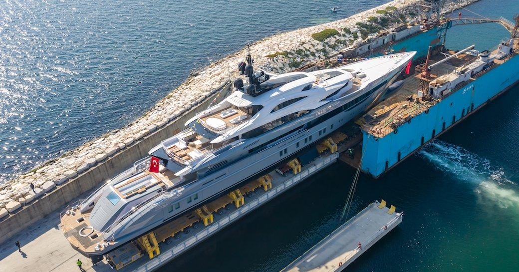 Bilgin launches largest Turkish-built superyacht: 80m TATIANA  photo 5