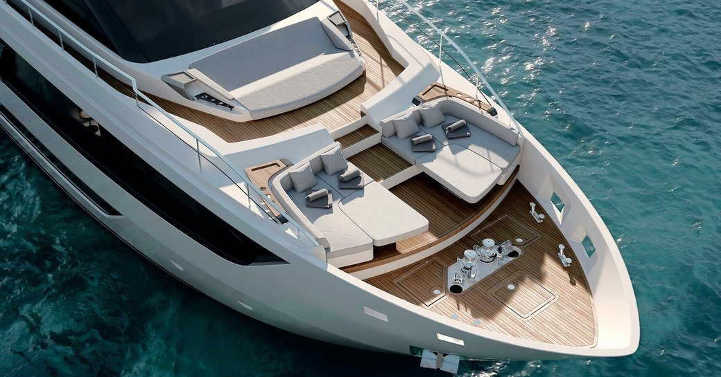 EPIC – New Ferretti 1000 yacht for charter in French Riviera photo 1