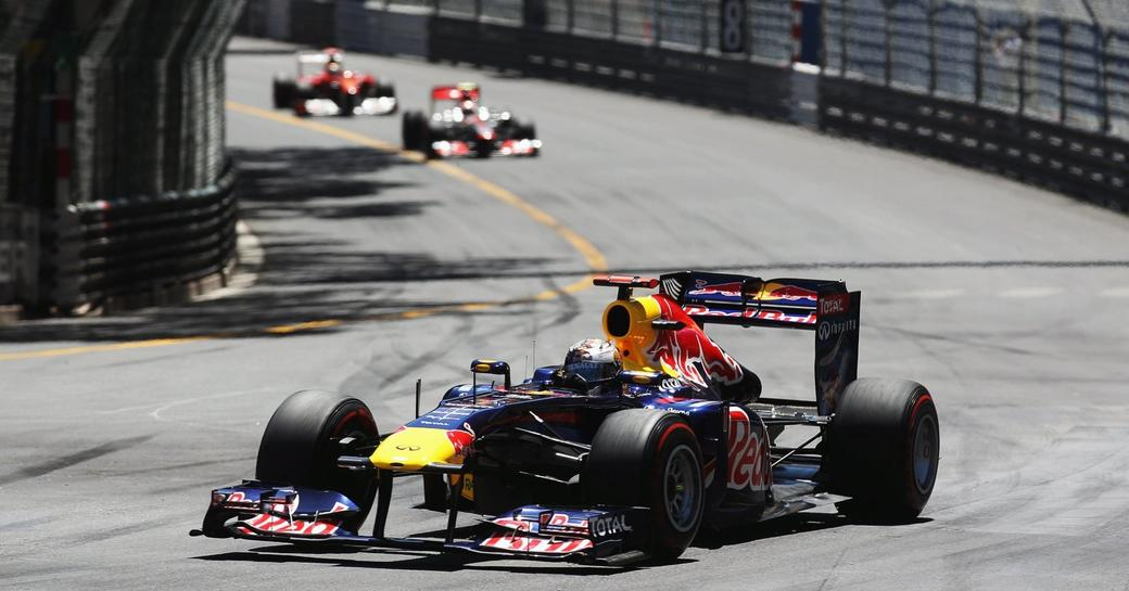 racers take to the streets during the Monaco Grand Prix