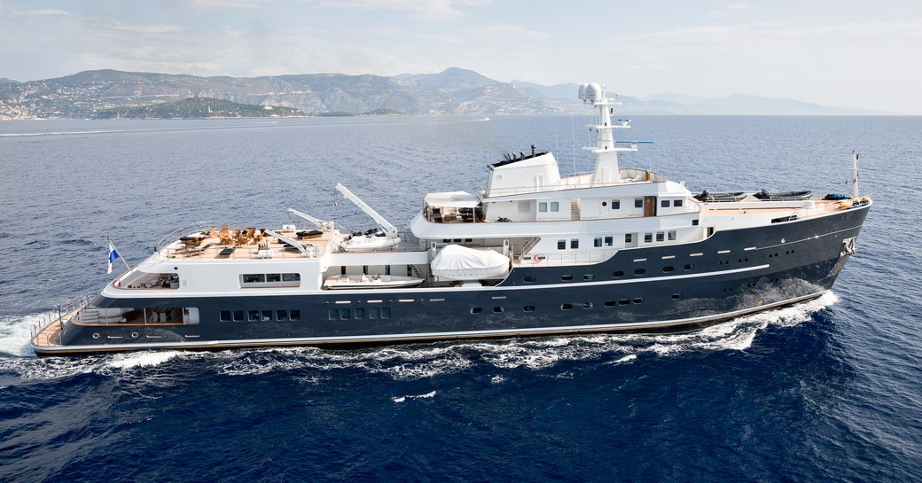 expedition yacht LEGEND will attend the Monaco Yacht Show 2017