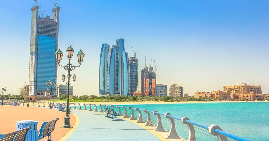 City life in Abu Dhabi