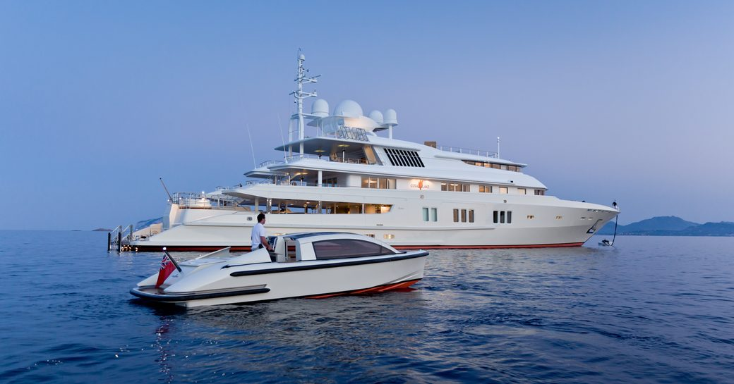 superyacht Coral Ocean is attending the Palm Beach Boat Show 2018