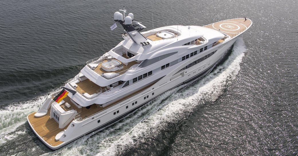 Lurssen Superyacht ARETI To Make World Debut At Monaco Yacht Show 2017 photo 2