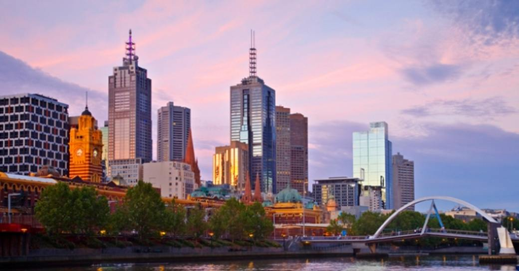 City buildings in Melbourne
