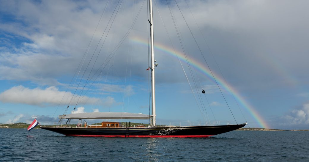 sailing yacht RAINBOW will be attending the Monaco Yacht Show 2017