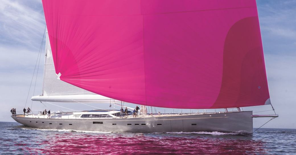 sailing yacht pink gin VI to appear at the 2017 Monaco Yacht Show