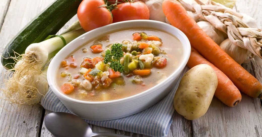 Soupe Corse, one of the most famous soups made in Corsica