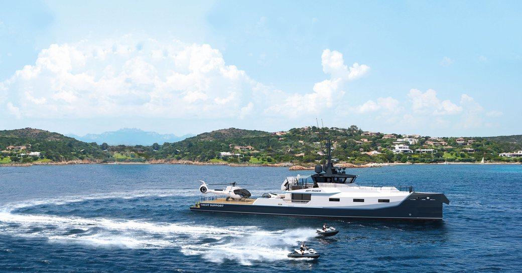 Support superyacht JOY RIDER