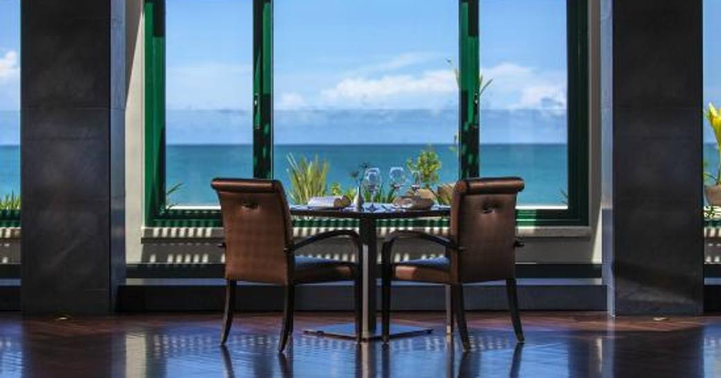 Fine dining in St Lucia