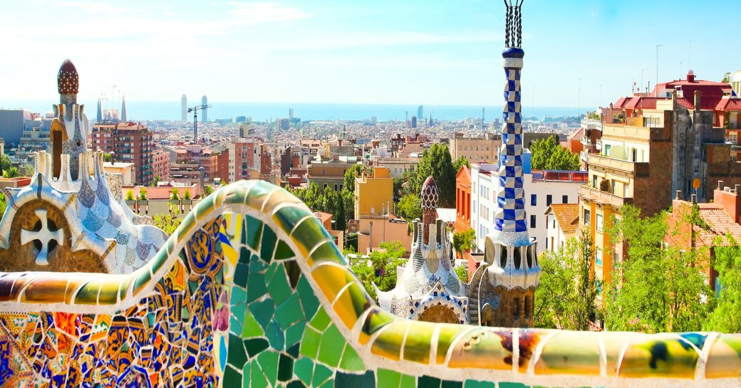 Stunning views over Barcelona, Spain, host of the 2017 MYBA Charter Show
