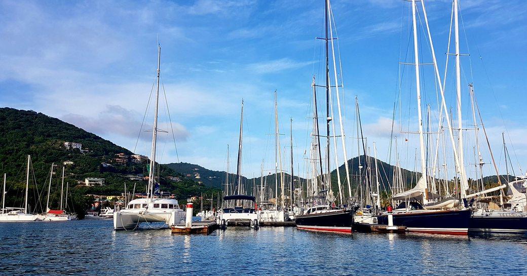Nanny Cay Resort and Marina in Tortola, the British Virgin Islands