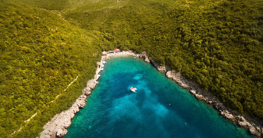 Dobrec Beach in Montenegro