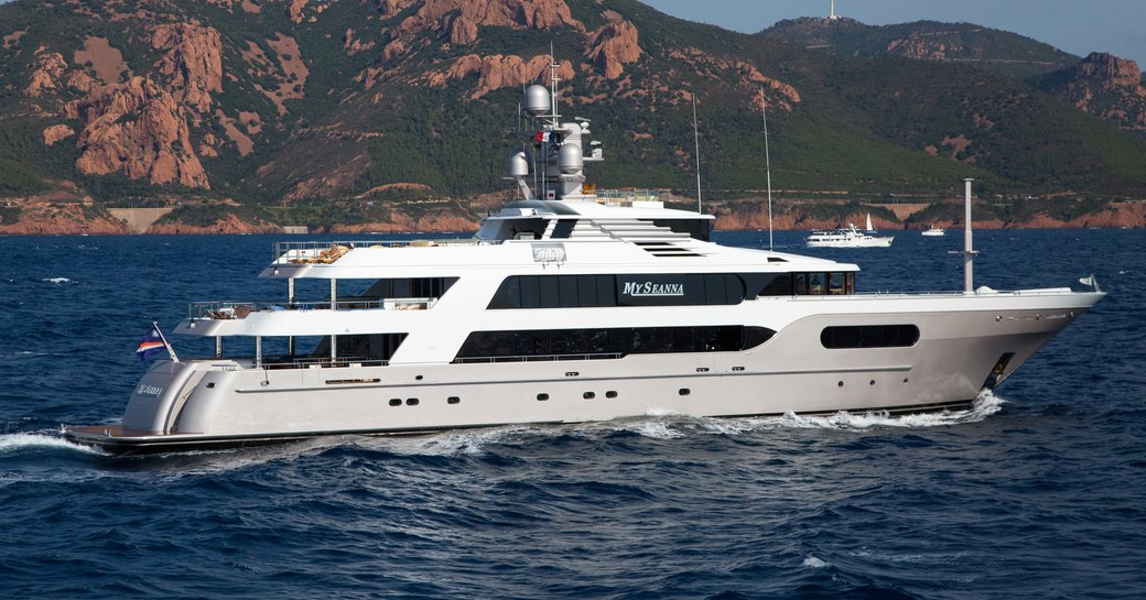 superyacht MY SEANNA is attending the Antigua Charter Yacht Show 2017