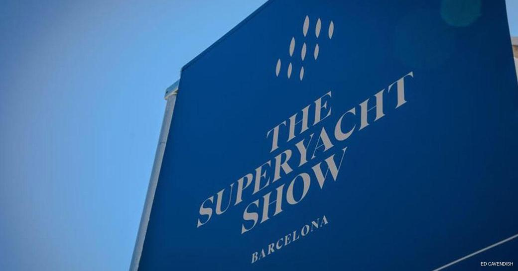blue banner for The Superyacht Show