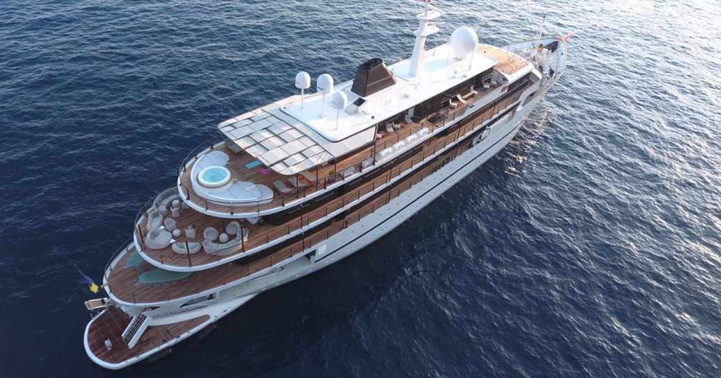 Superyacht CHAKRA Open For Charter At The Abu Dhabi Grand Prix photo 6