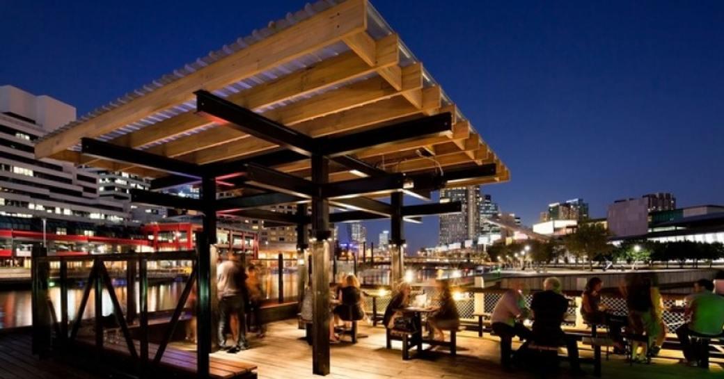 nightime bars melbourne yacht charter