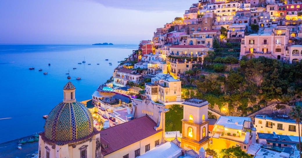 Positano on the Amalfi Coast in Italy