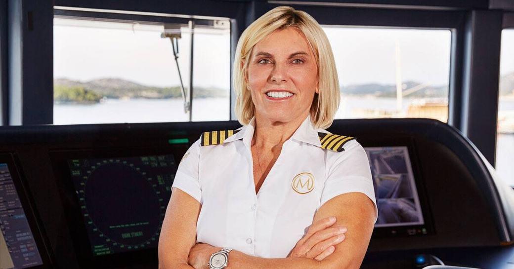 Captain Sandy on Below Deck Mediterranean