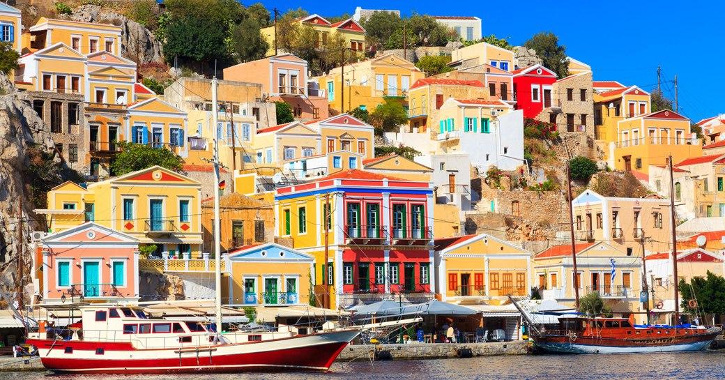 Symi, greece sea view