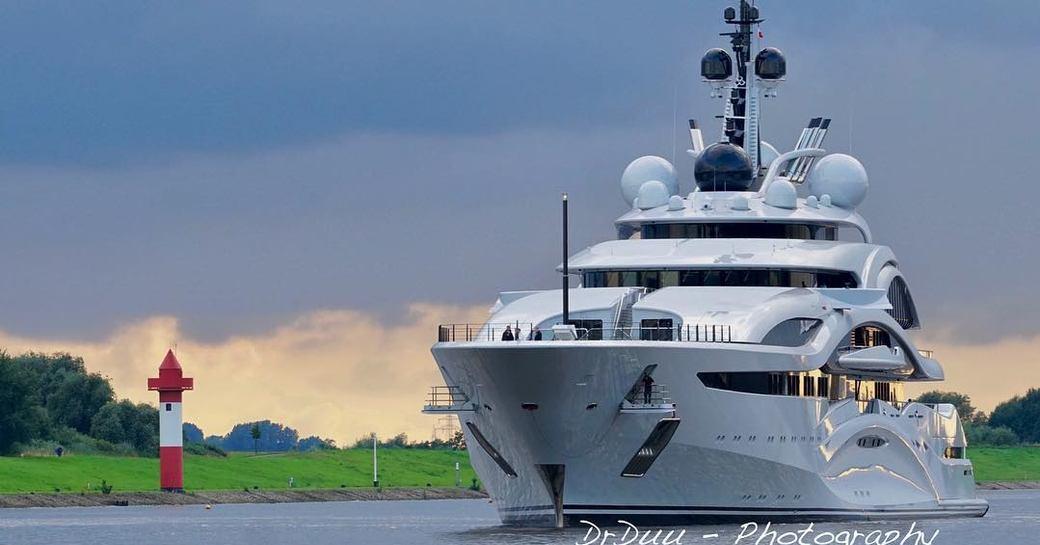 Lurssen Delivers Superyacht 'Al Lusail' photo 1