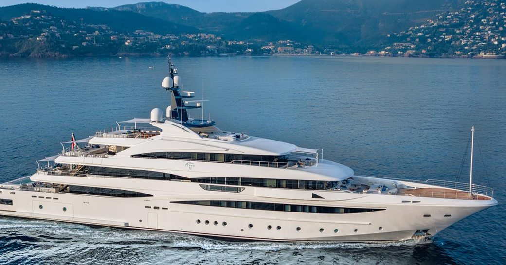superyacht Cloud 9 will attend the Monaco Yacht Show 2017