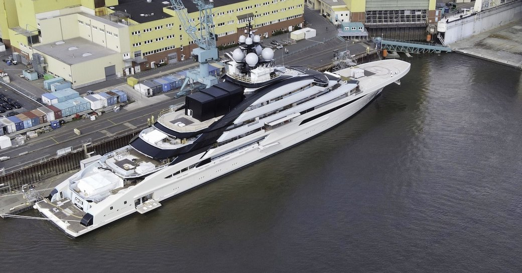 luxury lurssen yacht opus or NORD