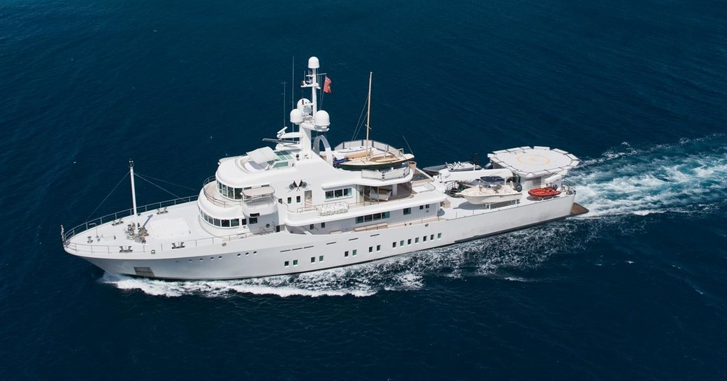 expedition yacht SENSES cruises on charter in Thailand