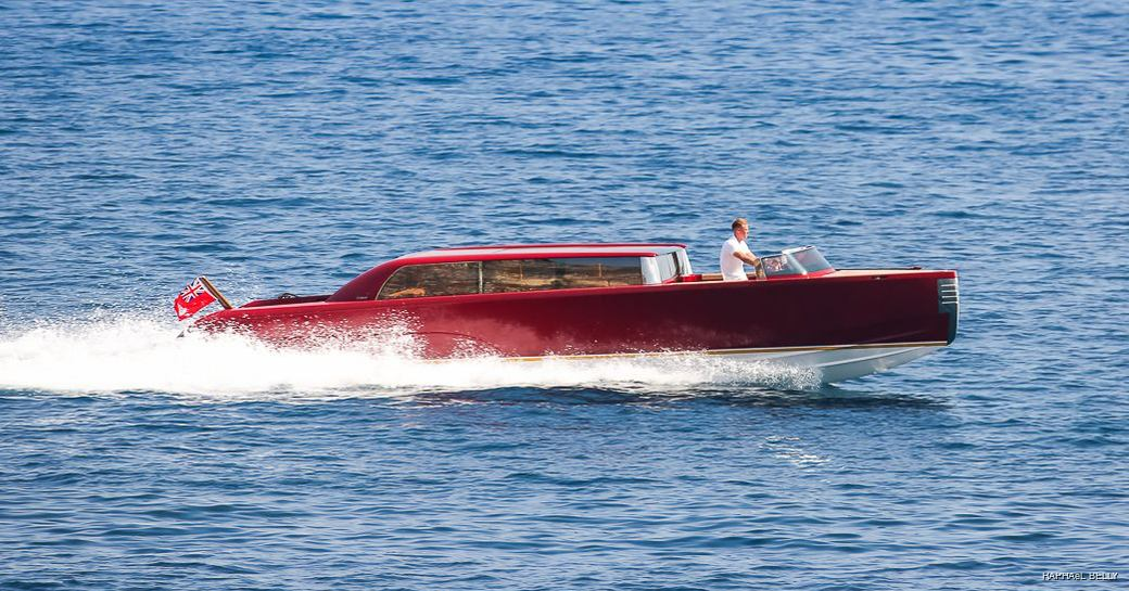 Limousine tender to MY Lady S