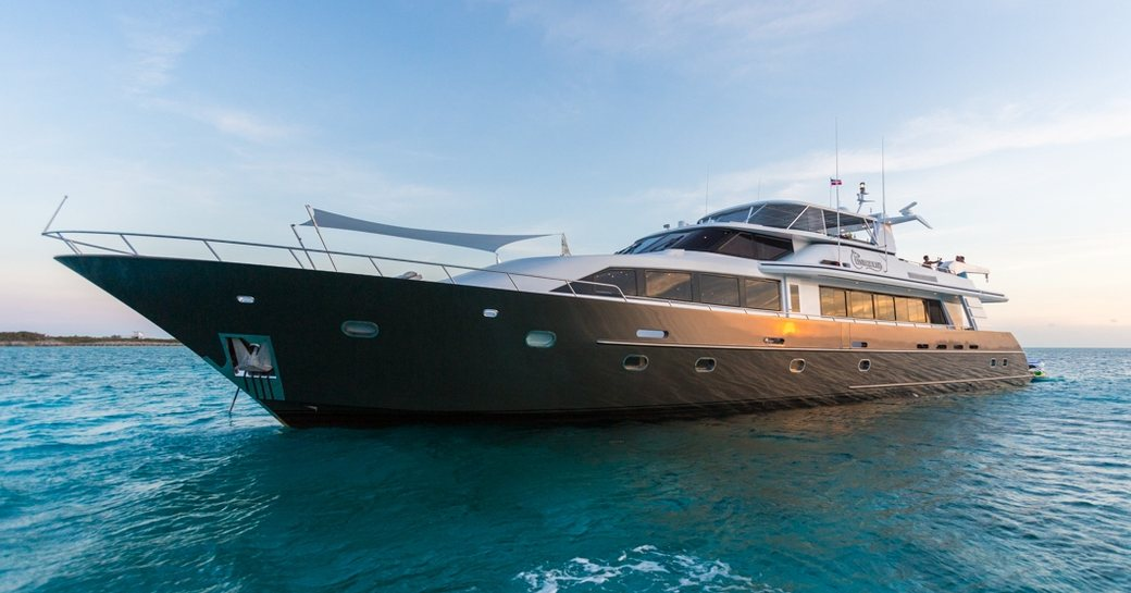 motor yacht UNBRIDLED will appear at the Antigua Charter Yacht Show 2017